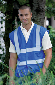 Hi-Vis vest spectrum personalised printing oxford